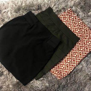 Bundle Mini Skirts (3 for $15)